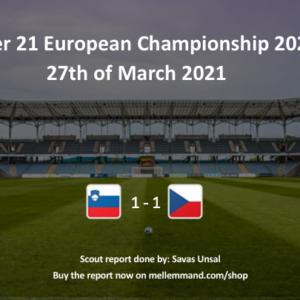 Slovenia vs Czech Republic – Under21 Scout Report