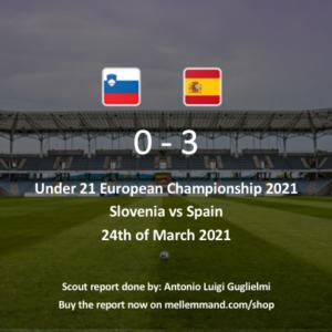Slovenia vs Spain – Under21 Scout Report